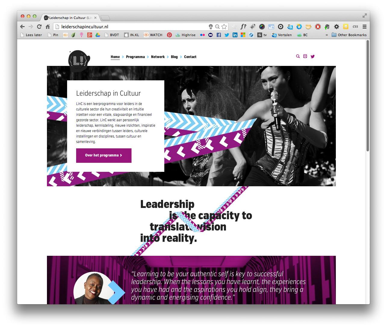 Nieuwe Website Leiderschapincultuurnl Linc Gelanceerd