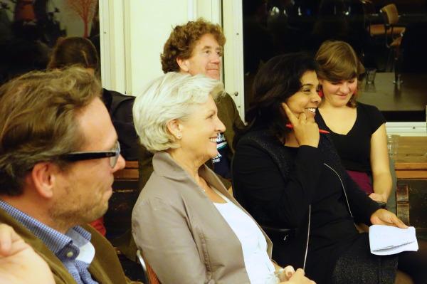 Publiek, waaronder Tanja Jadnanansing