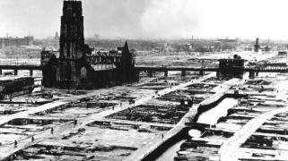Rotterdam in 1940 na overgave