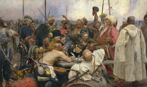 The Zaporozhye Cossacks Replying to the Sultan