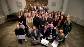 Alle deelnemers van Leiderschap in Cultuur (tweede editie).
