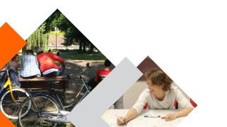 Cover van de publicatie 'Onderzoek doen en beleid maken mét burgers: hoe doe je dat?'