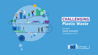 Het thema van de European Social Innovation Competition 2019 is 'Challenging Plastic Waste'.