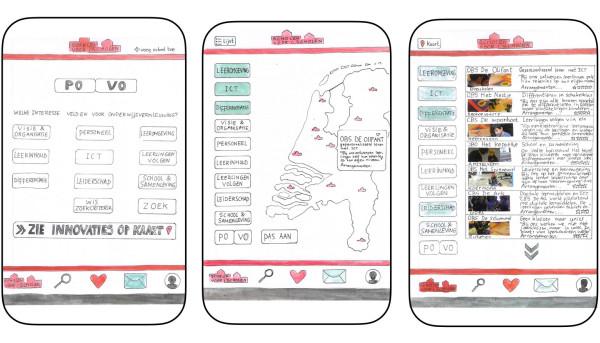 Prototype digitaal platform kennisuitwisseling tussen scholen.