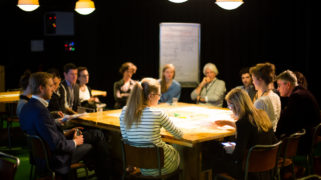 Workshop during the kick off of the European Social Innovation Competition 2016 in Amsterdam.