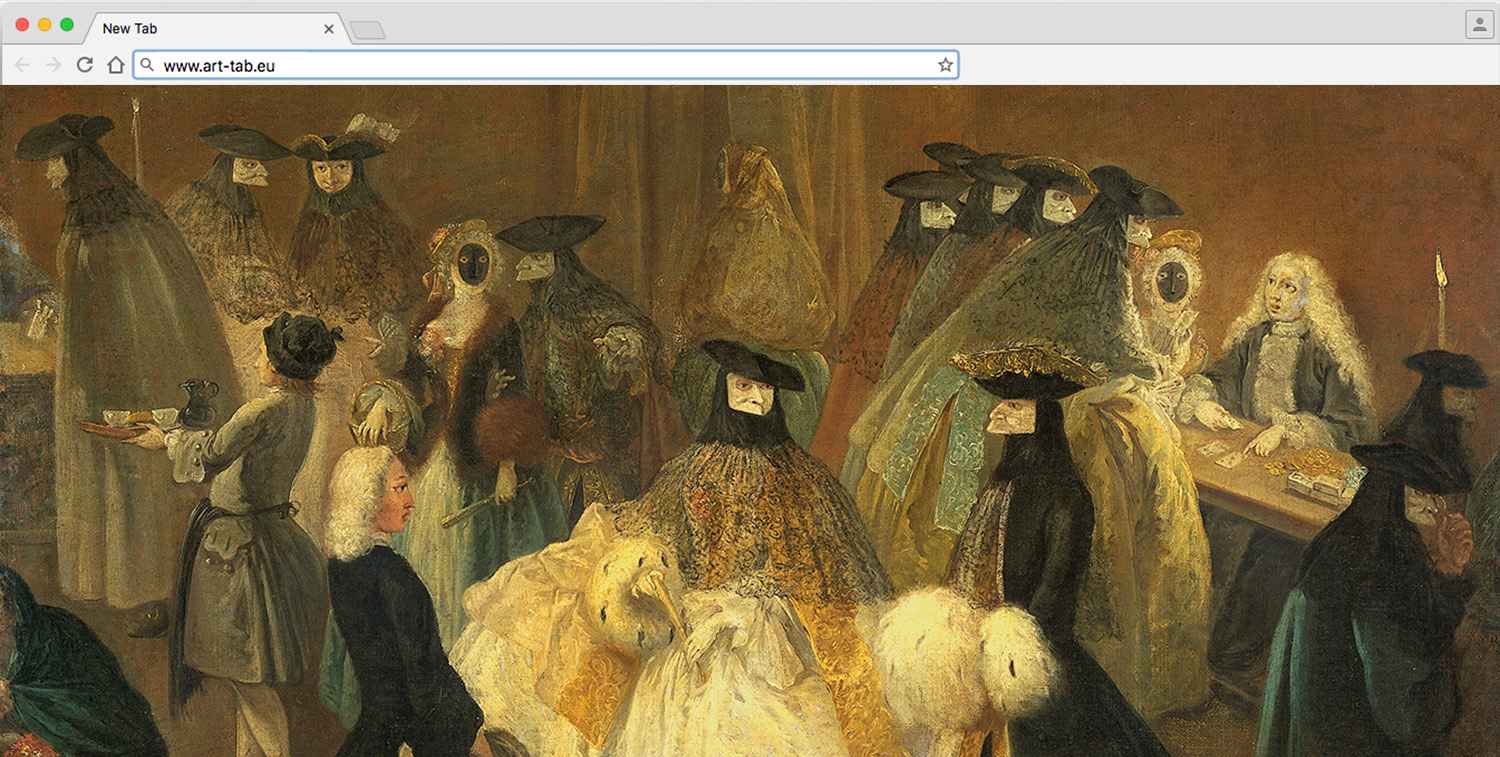 art up your tab  heritage in your browser