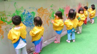Kleine kinderen in Hong Kong.
