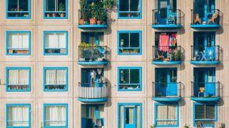Balkons in Amsterdam Zuidoost