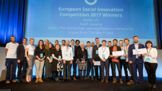 All finalists of the 2017 European Social Innovation Competition