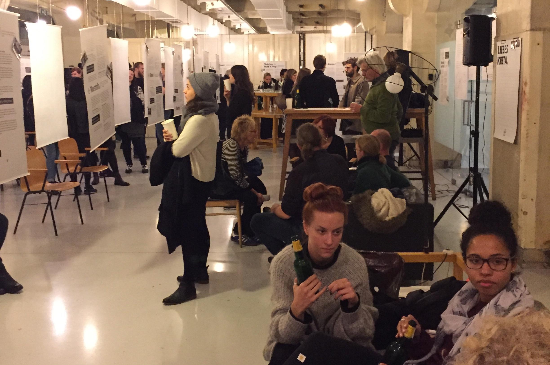 The Liebes Kreta Exhibition in Vienna.