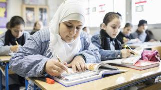 Syrische en Libanese kinderen in de Klas.