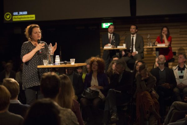 Marleen Stikker van Waag Society houdt een pleidooi voor stadmakers