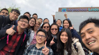 Hong Kong teachers on education safari in the Netherlands.