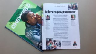 KL's Tessa interviewt Cristian Bello van Bomberbot.