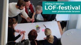 Op vrijdag 5 oktober vindt het LOF-festival plaats, de ontmoetingsplek voor vernieuwende leraren.