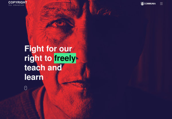 Fighting for better copyright for education.