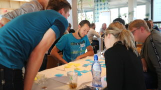 Teams werken aan hun plannen voor beter burgerschapsonderwijs