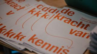 De papieren versie van de krant, met daarin lessen en inzichten van twee jaar CDKM, werd tijdens het event gepresenteerd.