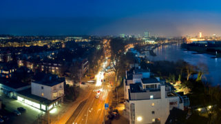 Arnhem by night