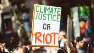 Climate justice or riot