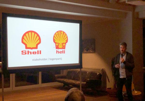 Shell: stakeholder of tegenpartij?
