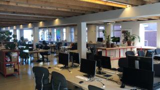 Ons kantoor is dan misschien leeg, maar veel van onze projecten gaan gewoon door!