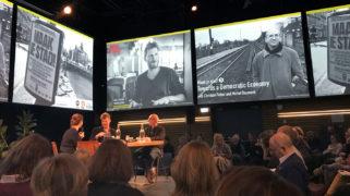 Bijeenkomst Amsterdammers, Maak je stad in Pakhuis de Zwijger