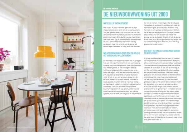 Pagina uit het magazine