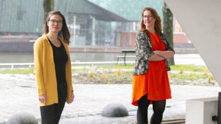 Nora van der Linden (KL) en Cyril van Sterkenburg (Vandejong)